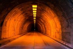 Túnel de la calle de Wawona Foto de archivo libre de regalías