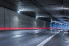 Túnel de la carretera Fotos de archivo