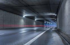 Túnel de la carretera Imagenes de archivo