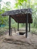 Túnel de la ji del Cu en Vietnam Foto de archivo