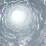 Túnel de la luz Fotos de archivo