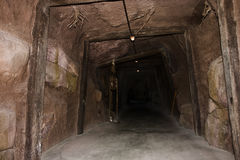 Túnel de la mina Fotografía de archivo libre de regalías