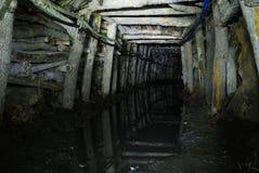 Túnel de la mina Imágenes de archivo libres de regalías
