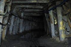 Túnel de la mina Foto de archivo libre de regalías