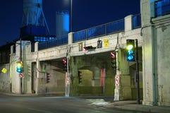 Túnel de la muerte, Montreal, Canadá (1) imágenes de archivo libres de regalías