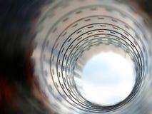 Túnel de la película imagen de archivo