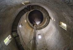 Túnel de la torre de agua dentro Fotos de archivo libres de regalías