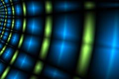 Túnel de las luces Imágenes de archivo libres de regalías