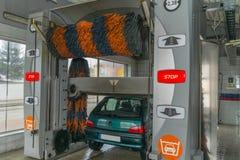Túnel de lavado Imagenes de archivo