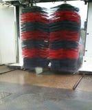 Túnel de lavado automatizado en Francia Imagenes de archivo