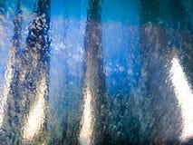 Túnel de lavado del parabrisas Foto de archivo
