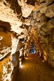 Túnel de Nuraghe Santu Antine fotografia de stock royalty free