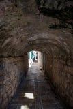 túnel de pedra Fotos de Stock Royalty Free