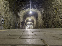 Túnel de piedra Imagen de archivo