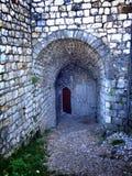 túnel de piedra Fotografía de archivo