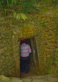 Túnel de Vinh Moc Fotos de archivo libres de regalías