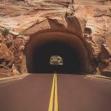 Túnel de Zion Foto de archivo
