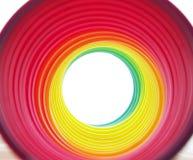 Túnel del arco iris Imágenes de archivo libres de regalías