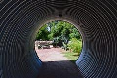 Túnel del cañón en el punto del patriota imagen de archivo libre de regalías