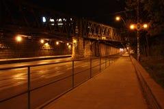 Túnel del camino Fotografía de archivo libre de regalías