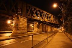 Túnel del camino Fotos de archivo
