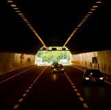 Túnel del coche Fotografía de archivo