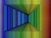 Túnel del cubo Imagen de archivo libre de regalías