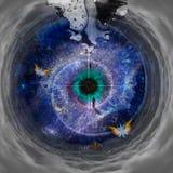 Túnel del espacio libre illustration