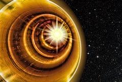Túnel del espacio Imagen de archivo libre de regalías