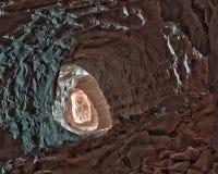 Túnel del espejo fotos de archivo