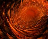 Túnel del fuego Fotografía de archivo libre de regalías