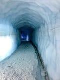 Túnel del hielo Imágenes de archivo libres de regalías
