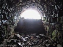 Túnel del ladrillo Imagen de archivo libre de regalías