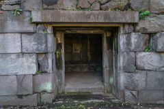 Túnel del ladrillo viejo Foto de archivo