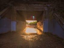 Túnel del misterio Imágenes de archivo libres de regalías