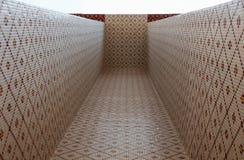 Túnel del mosaico imagen de archivo