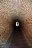 Túnel del remache de la fortaleza imagen de archivo libre de regalías