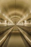 Túnel del St Pauli Elbe, Hamburgo, Alemania imagenes de archivo