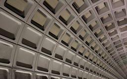 Túnel del subterráneo Imagenes de archivo