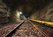 Túnel del subterráneo en Helsinki Imagen de archivo