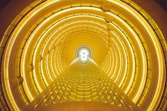Túnel del tiempo Fotografía de archivo libre de regalías