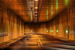 Túnel del tiempo Imagen de archivo libre de regalías