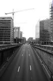 Túnel del tráfico Foto de archivo libre de regalías