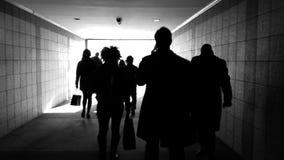 Túnel del viajero Fotografía de archivo