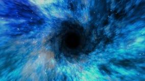 Túnel del Wormhole del espacio (viaje) del tiempo 4K