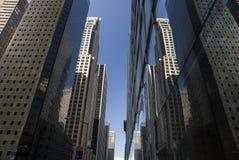 Túnel do arranha-céus de New York Foto de Stock Royalty Free