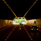 Túnel do carro Fotografia de Stock