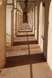 Túnel do castelo Fotografia de Stock Royalty Free
