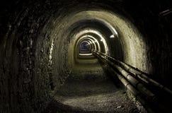 Túnel do Longe Imagens de Stock