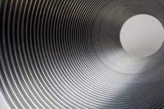 Túnel do metal Fotos de Stock Royalty Free